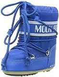Tecnica MOON BOOT MINI NYLON AZZURRO, Baby Jungen Stiefel, Blau (Light Blue 069),  EU 19-22 (UK 3/5,5)