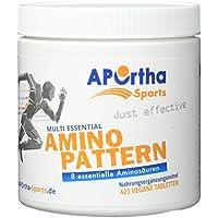 APOrtha Sports Multi Essential Amino Pattern | 8 essentielle Aminosäuren | 420 Tabletten | vegan