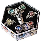 Katekyo Hitman Reborn Ring 7 PCs and necklace
