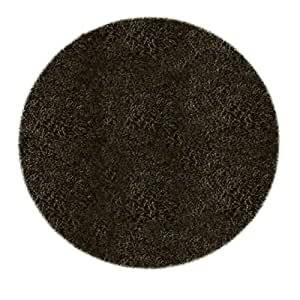 William armes fiji tapis rond noir 100 cm cuisine maison for Petit tapis rond