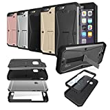 Gupi Tough Armored Tank case vari, METALLO, Gun metal Grey, Apple iPhone 7