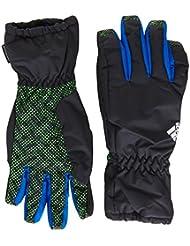 adidas Handschuhe Youth Boys - Guantes de running para niño, color negro, talla S