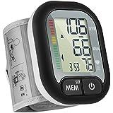 Handgelenk-Blutdruckmessgerät, vollautomatisches Blutdruckmessgerät Handgelenk, abnormaler Blutdruck und unregelmäßiger Herzschlagdetektor mit Weitbereichsmanschette, 60 Aufzeichnungen für einen Benutzer, für Erwachsene.