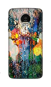 Kanam 3D Mobile Back Cover for Motorola Moto G6 Plus