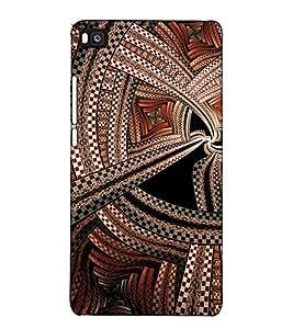 Fuson Designer Back Case Cover for Huawei P8 (Designer Pattern Design Art)