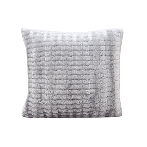 Euro Kissenbezüge Grau (TWIFER Kissenbezug Sofa Taille Wurf Kissenbezug Wohnkultur Home Decor (Grau, 45 x 45 cm))