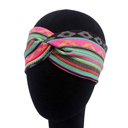 Stirnband Damen Headwrap Blumen Haarband Kopfband Haarb/änder Haar Accessoires Sport Yoga Make-up Elastische Damen Stirnb/änder Living Weiche Turban Kopf Verpackungs Kopfbedeckung