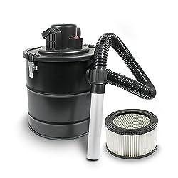Aschesauger Kaminsauger mit Motor 1200W und HEPA Filter