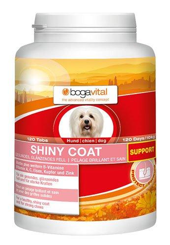 bogavital Shiny Coat Support Hund, 1er Pack (1 x 180 gr) -