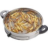 Andrew James – Accessoire Friteuse Sans Huile - Air Fryer - Convient Pour L'Usage Avec Tous Fours Halogènes De 12 Litres