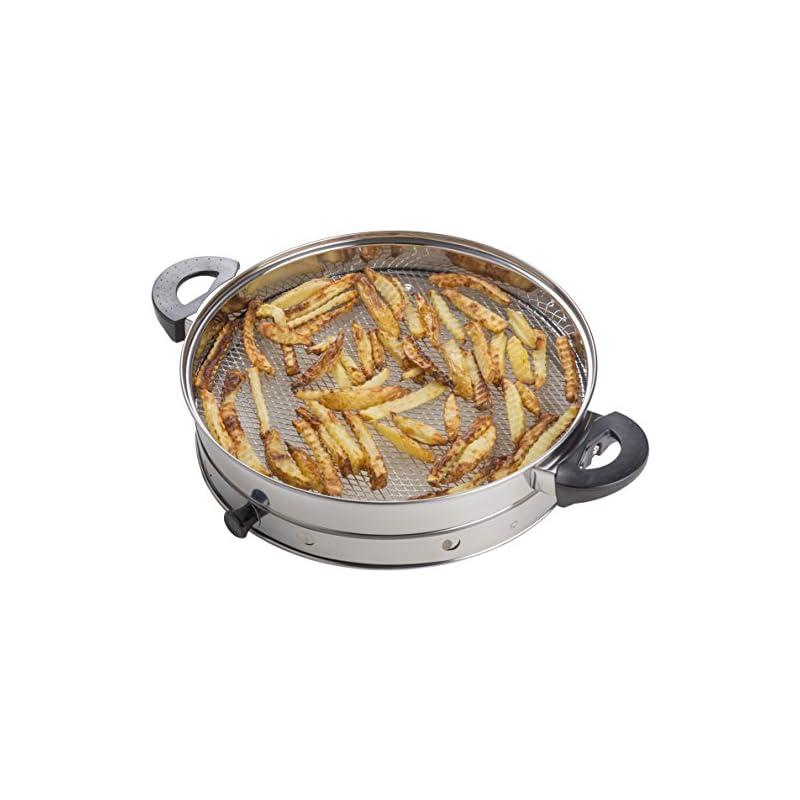 Andrew James Fritteuse Zubehr Fr 12l Halogenfen Heissluftfen Fr Gesundes Lfreies Kochen