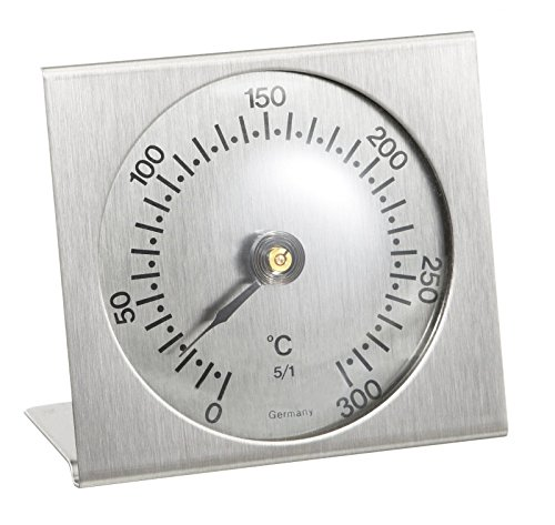 TFA Dostmann Analoges Backofenthermometer, aus Metall, hitzebeständig