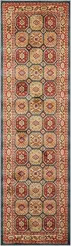 Nourison Teppich Mondrian 99446281487–Midnight maschinell gewebt Teppich, Midnight, 2ft 2Zoll x 7ft 6