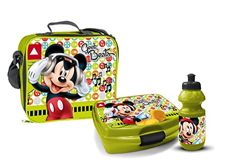 ausenset Lunchbox 3 Teile Tasche Brotdose Trinkflasche ()