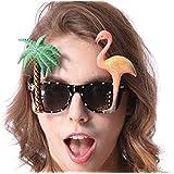 Sumolux Bier Brille Fun Scherzbrille Partybrille für Oktoberfest Fasching Karnevall