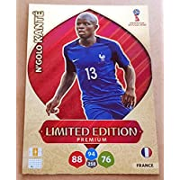 Adrenalyn XL Coupe du monde de football 2018Russie–N 'golo Kante (Premium Edition Limitée Trading Card–France