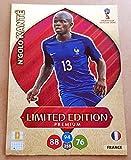 Adrenalyn XL FIFA World Cup 2018Russia–N 'golo Kante Premium Limited Edition Trading Card–Francia