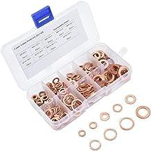 Kupfer Dichtring O-Ring Unterlegscheiben Sortiment 300-tlg BGS 8142
