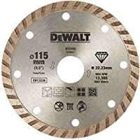 DeWalt DT3702-QZ Disco de Diamante Turbo para Corte en seco 115 x 22.2 mm