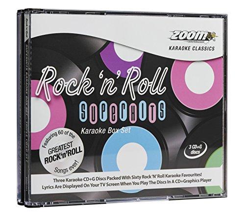 Karaoke Soft-rock, (Karaoke Rock 'N' Roll Superhits 3 Cdg Set/60 Titel)