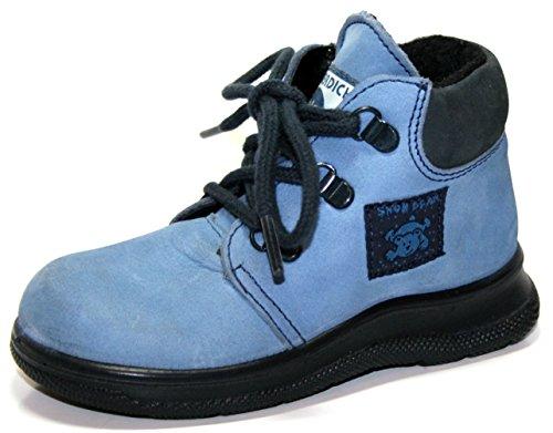 Jela 61.089.33–tex chaussures-bottes d'hiver pour fille Bleu - jeans-ozean
