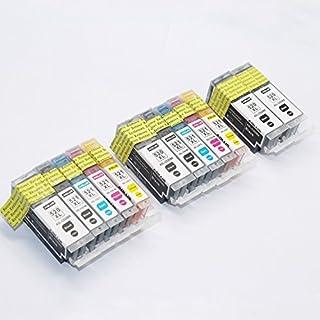 ADLUS 12 kompatibler Canon PGI-520 CLI-521 Tintenpatronen (4 PGBK,2 BK,2 C,2 M,2 Y) für Canon Pixma MP620 MP540 MP980 MP560 MP630 MX860 MP640 MP550 MP990 MX870 MP640 MP620 M 640R IP4600X Drucker