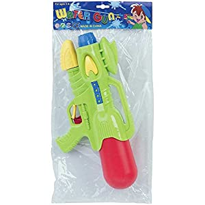 WDK Partner-Pistola a Agua Bomba 2chorros 38cm, zh048648