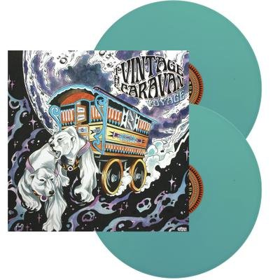 THE VINTAGE CARAVAN, Voyage LIGHT BLUE VINYL - 2LP