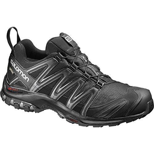 Salomon Chaussures De Course Pour Homme Et Trail Xa Pro 3d Gtx Noir / Noir / Aimant