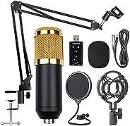 Decdeal BM800 Professional Suspension Microphone Kit Studio Live Stream Broadcasting Recording Condenser Micro