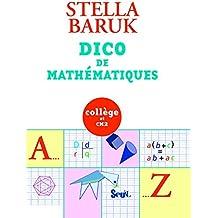 Dico de mathématiques : Collège et CM2