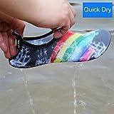 Qimaoo Unisex Strandschuhe Strand Schwimmschuhe Schnell Trocknend Schuhe Aquaschuhe Badeschuhe Wasserschuhe Surfschuhe - 7