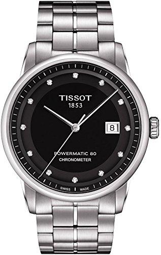 Tissot–Orologio uomo Tissot Luxury automatico T0864081105600Bracciale in acciaio–T0864081105600
