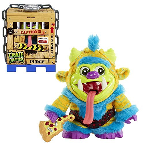 MGA Entertainment Auswahl Monster Plüsch Figuren | Crate Creatures Surprise, Figur:Pudge