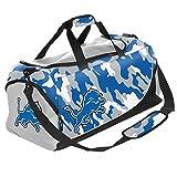 NFL Football Detroit Lions Camouflage Camo Core Duffle Bag/Tasche/Sporttasche