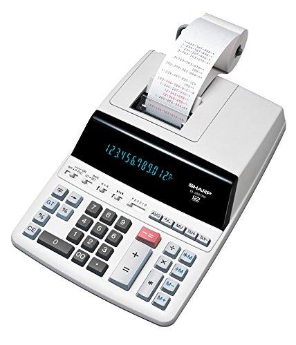 Sharp EL-2607 PG GYSE druckender Tischrechner