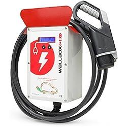 UP WallboxOK Punto recarga coches eléctricos pared. Tipo 1 (SAE J1772) Intensidad regulable 6-20A 4,6 kW