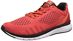 Reebok Mens Print Smooth Ultk Carotene, Black and White Running Shoes -9 UK/India (43 EU) (10 US)