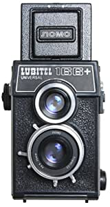 LOMOGRAPHY LUBITEL 166+ 35MM/MEDIUM FORMAT TWIN LENS REFLEX (TLR) CAMERA WITH BUIL-IN 75MM F/405 LENS