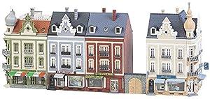Faller FA 232385-Ciudad häuserzeile Bancal Hoven Calle, Accesorios para el diseño de ferrocarril, Modelo