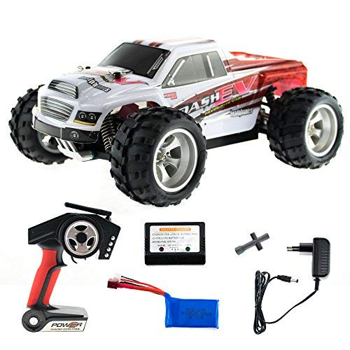 efaso WL Toys A979-B - schneller RC Monstertruck 70 km/h schnell, wendig, voll digital proportional - 2.4 GHz RC Auto mit Allradantrieb - Maßstab 1:18, hoher Fun Faktor