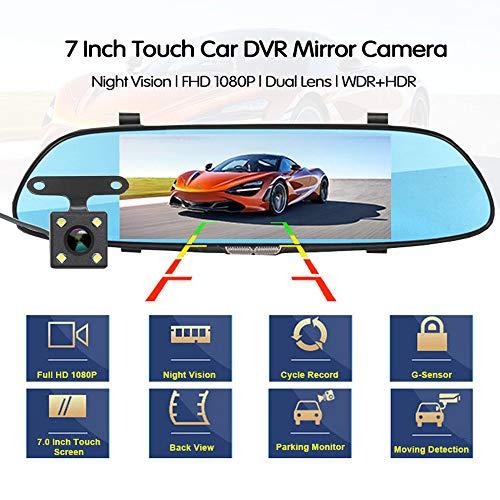 Cámara para el Carro la cámara del automóvil, 7 Pulgadas, Pantalla táctil...