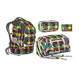 Satch Pack - Set 4 tlg. - Beach Leach - Schulrucksack + Sporttasche + Schlamperbox + Geldbörse