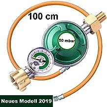 1 m Schlauch Einhell Gas-//Druckregler Propan//Butanregler 300 mbar