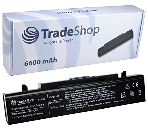 Hochleistungs Laptop Notebook AKKU 6600mAh schwarz für Samsung NT-RC530 RC710 NP-RC710 NT-RC710 RC720 NP-RC720 NT-RC720 RF410 NP-RF410 NT-RF410 RF510 NB-RF510 NP-RF510 NT-RF510 RF710 NB-RF710 NP-RF710 NT-RF710 NT-RF710