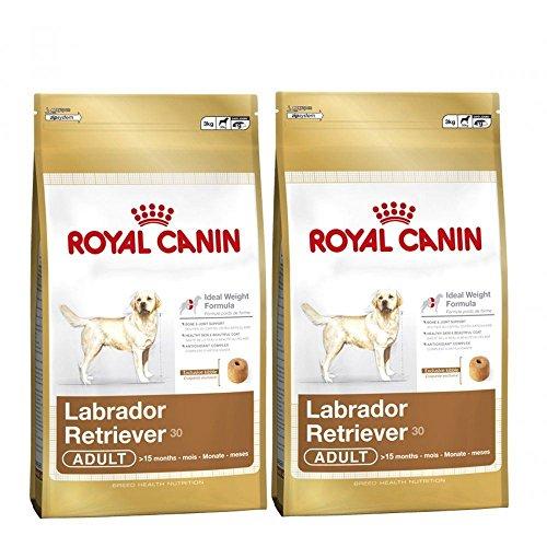 2x 12kg Royal Canin Labrador Retriever 30Stück für Erwachsene Hunde - Hundefutter Canin Retriever Royal Sterilised Labrador