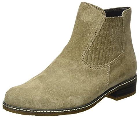 Gabor Shoes Comfort Sport, Bottes Chelsea Femme, Marron (Light brown), 44 EU
