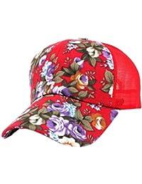 Gorros Gorra De Béisbol Moda Estampado Mujer Damas Floral Modernas Casual  Gorra De Béisbol Sombrero Hip ff426c5fa39