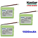 Kastar 3-PACK AAX3 3.6V 1600mAh EH Ni-MH Rechargeable Battery For Vtech