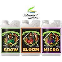 Advanced Nutrients pH Perfect Grow / Bloom / Micro 1L Fertilizante Mineral Para El Crecimiento y la Floración